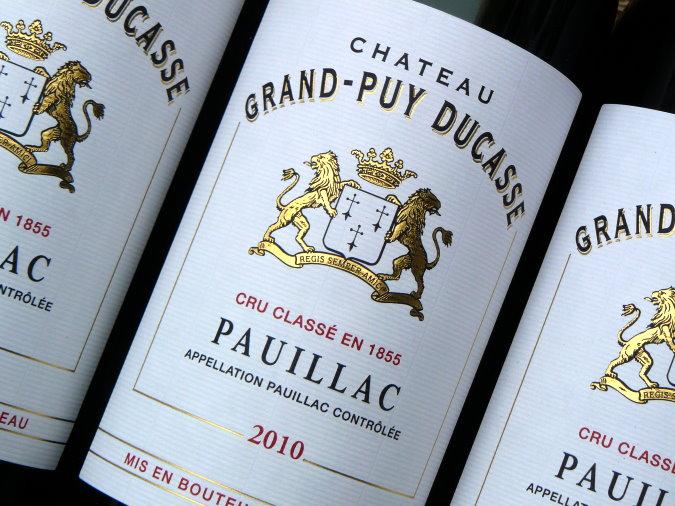 Grand Puy Ducasse 2010