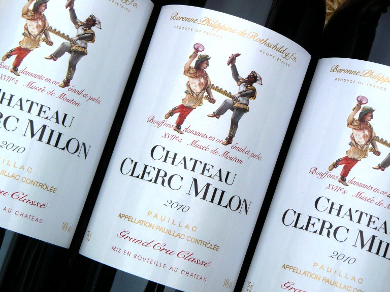 clerc milon 2010